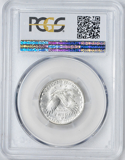 Picture of 1927-D STANDING LIBERTY 25C, TYPE 2 MS66 Full Head