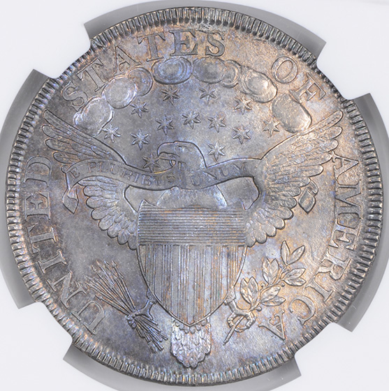 Picture of 1800 DRAPED BUST $1 MS64+