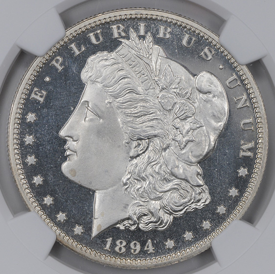 Picture of 1894 MORGAN S$1 PR67+ Deep Cameo