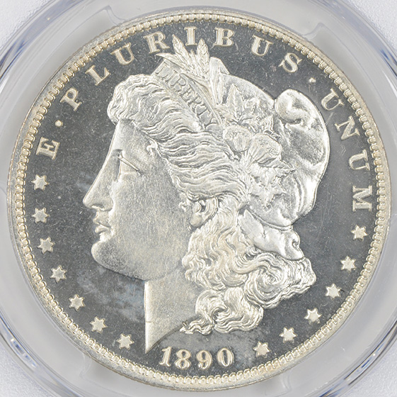 Picture of 1890 MORGAN S$1 PR67 Cameo