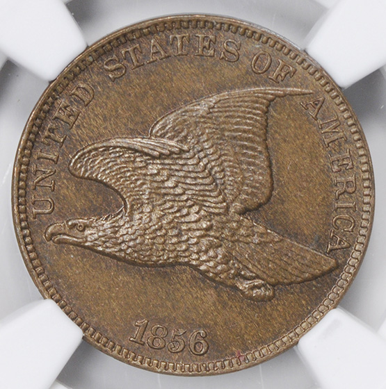 Picture of 1856 FLYING EAGLE 1C PR66