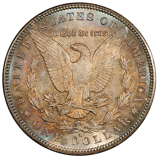 Picture of 1894-O MORGAN $1 MS64+