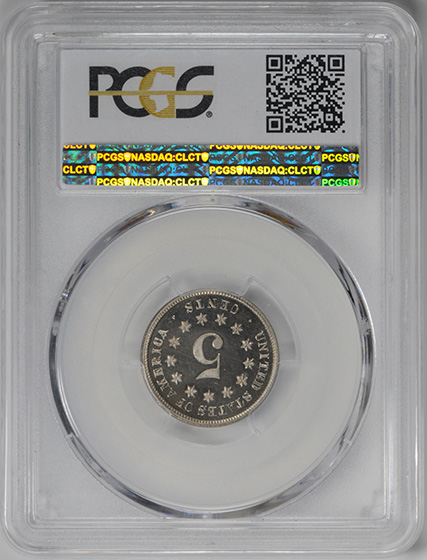 Picture of 1876 SHIELD 5C PR66 Deep Cameo