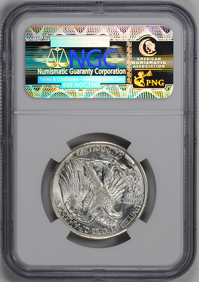 Picture of 1929-S WALKING LIBERTY 50C MS67