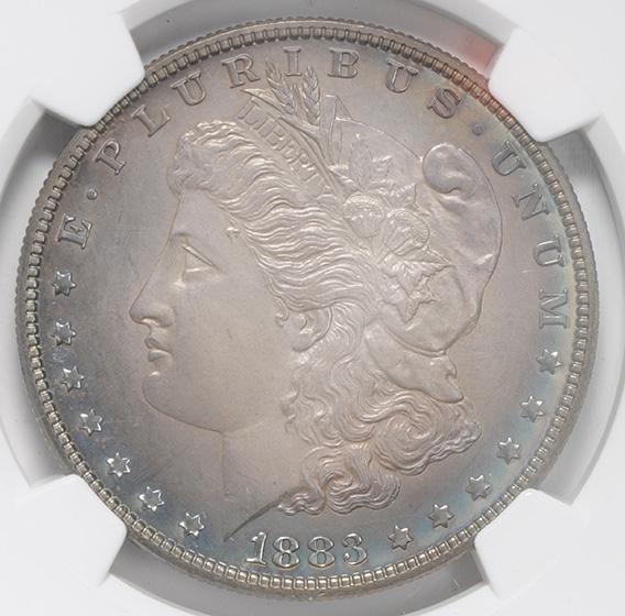 Picture of 1883 MORGAN S$1 PR67