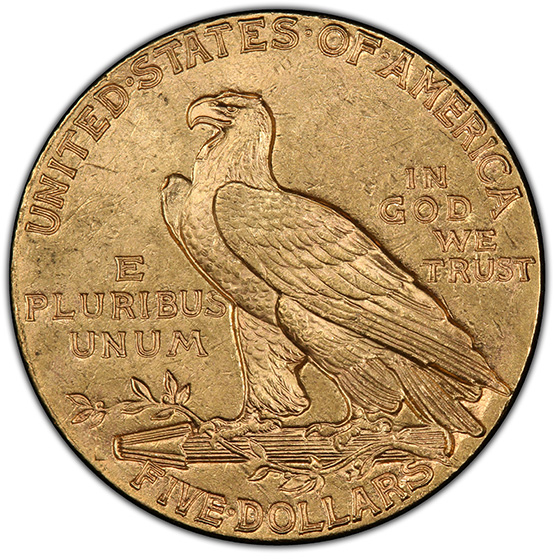Picture of 1913-S INDIAN HEAD $5 MS63