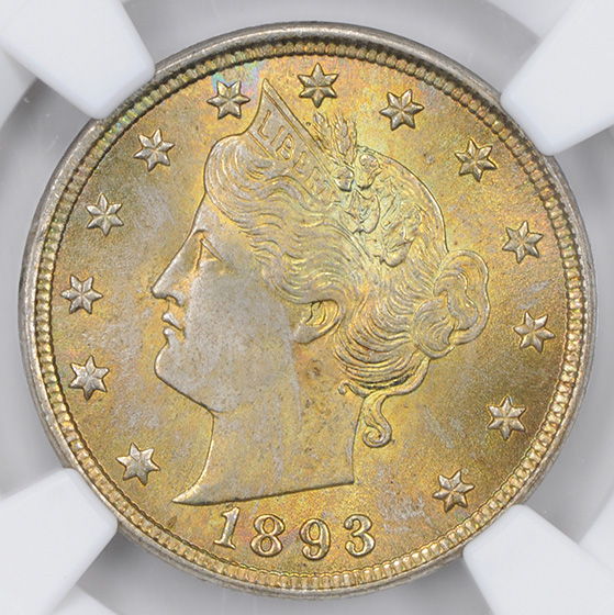 Picture of 1893 LIBERTY 5C MS67