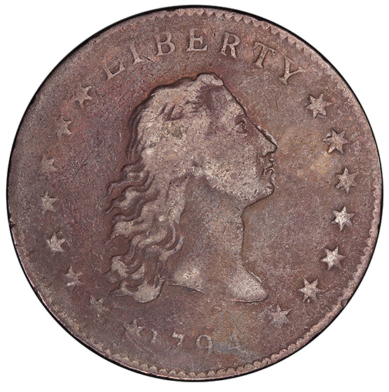 Picture of 1794 FLOWING HAIR $1 F15