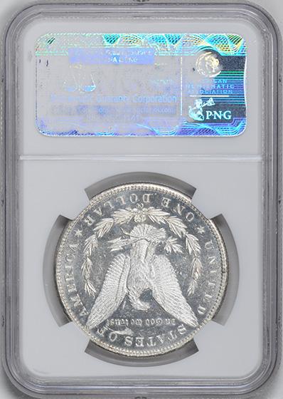 Picture of 1889-CC MORGAN S$1 MS63 DMPL