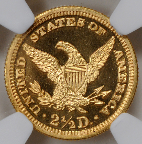 Picture of 1907 LIBERTY HEAD $2.5 PR68 Cameo