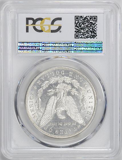 Picture of 1889-CC MORGAN S$1 AU58