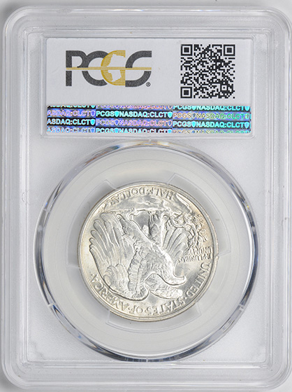 Picture of 1920 WALKING LIBERTY 50C MS65