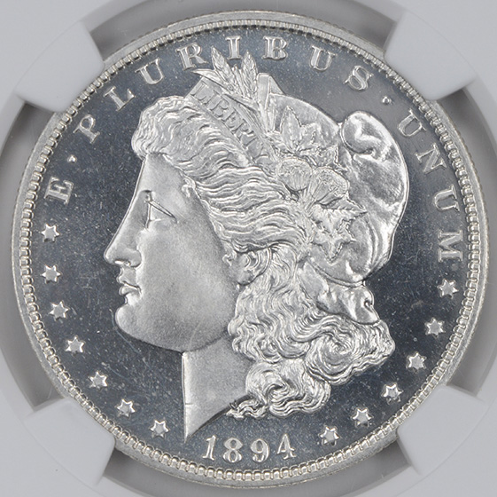 Picture of 1894 MORGAN S$1 PR68 Cameo