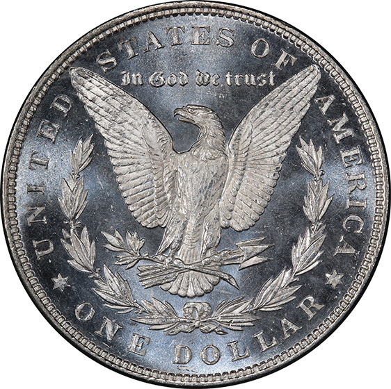 Picture of 1883 MORGAN S$1 MS66 DMPL