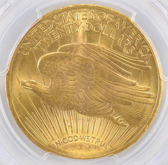 Picture of 1911 ST. GAUDENS $20 MS65+