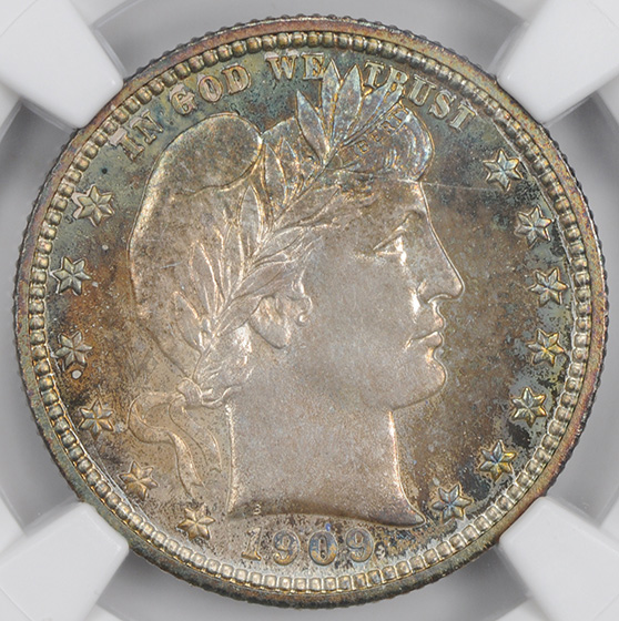 Picture of 1909 BARBER 25C PR68