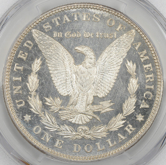 Picture of 1899 MORGAN S$1 MS66 DMPL