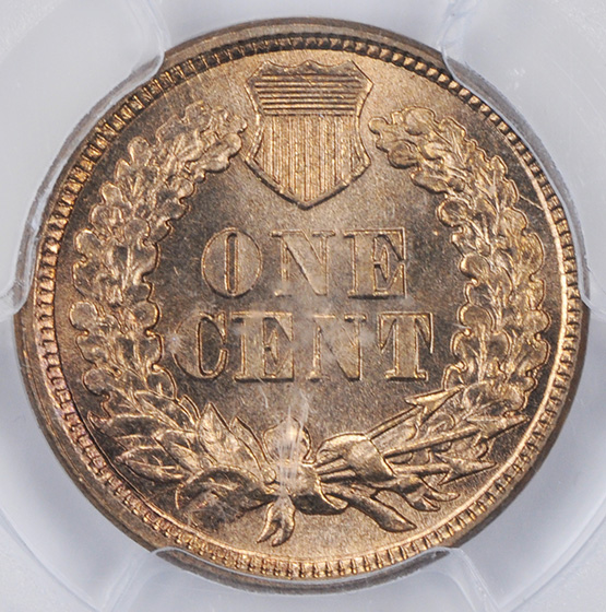 Picture of 1862 INDIAN COP-NIC 1C MS66