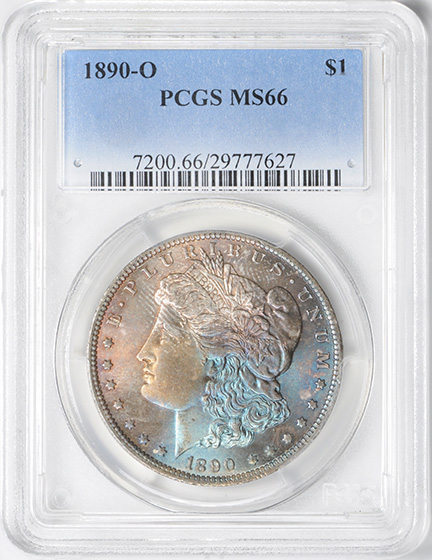 Picture of 1890-O MORGAN S$1 MS66