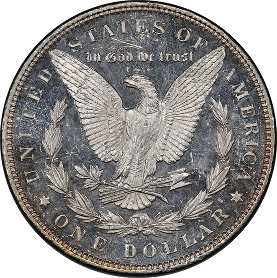 Picture of 1890 MORGAN S$1 MS65 DMPL