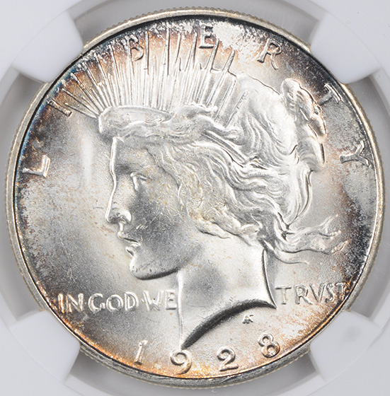 Picture of 1928-S PEACE $1 MS65