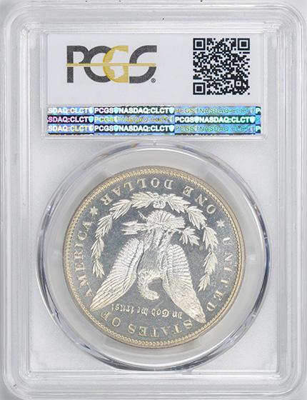 Picture of 1880 MORGAN S$1 PR67 Cameo