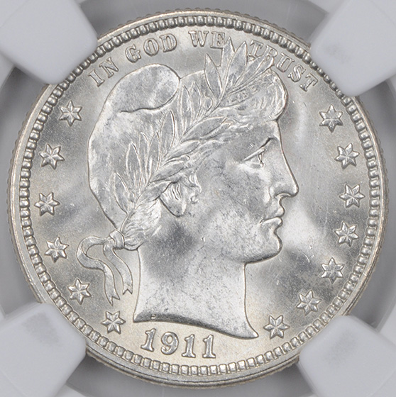 Picture of 1911 BARBER 25C MS66