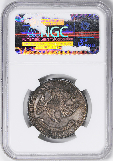 Picture of 1826 CAPPED BUST 50C, LETTERED EDGE MS65