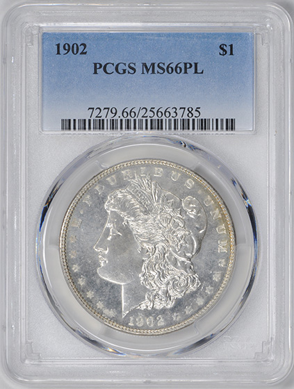 Picture of 1902 MORGAN S$1 MS66 Proof Like