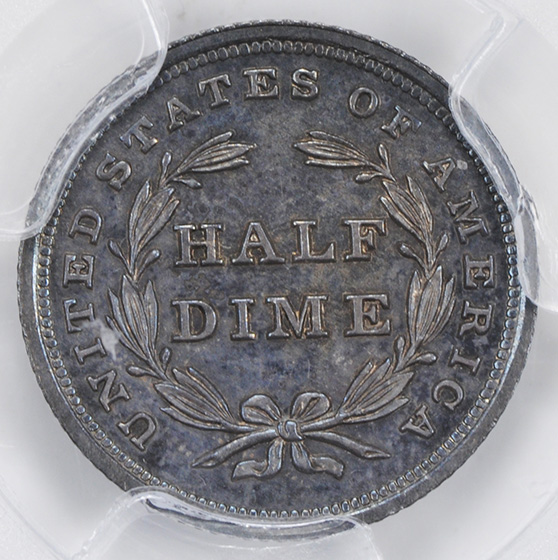 Picture of 1840 LIBERTY SEATED H10C, NO DRAPERY PR66