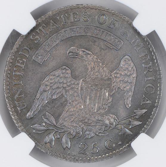 Picture of 1818 CAPPED BUST 25C MS65