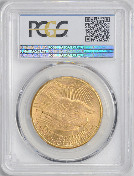 Picture of 1910-S ST. GAUDENS $20, MOTTO MS65