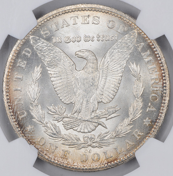 Picture of 1879-CC MORGAN S$1 MS65