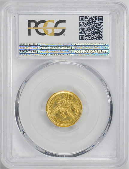 Picture of 1849-D LIBERTY HEAD $2.5 MS61