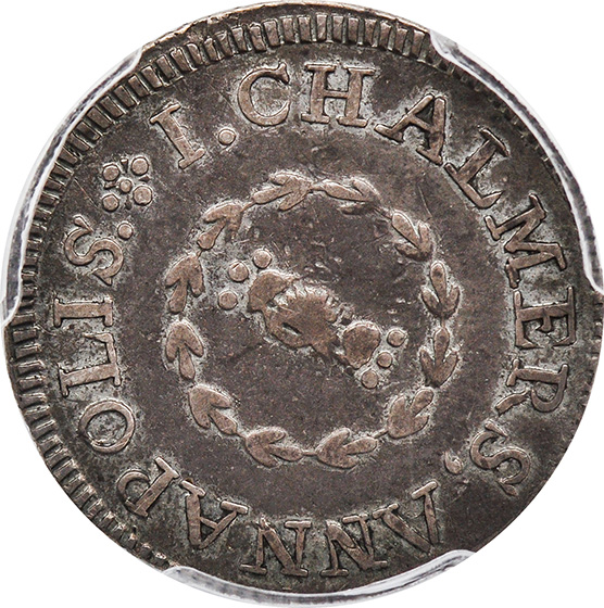 Picture of 1783 CHALMERS, SHORT WORM SHILNG XF45