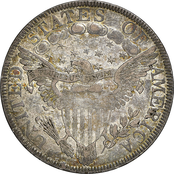 Picture of 1801 DRAPED BUST 50C AU53