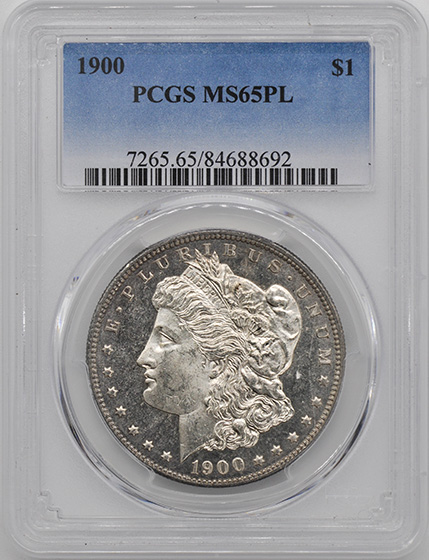 Picture of 1900 MORGAN S$1 MS65 Proof Like