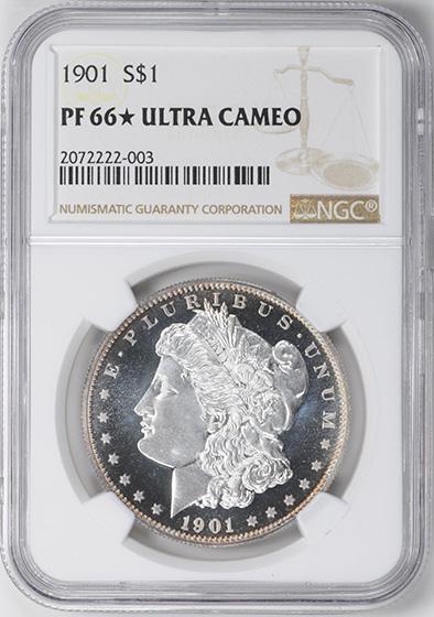 Picture of 1901 MORGAN S$1 PR66 Deep Cameo