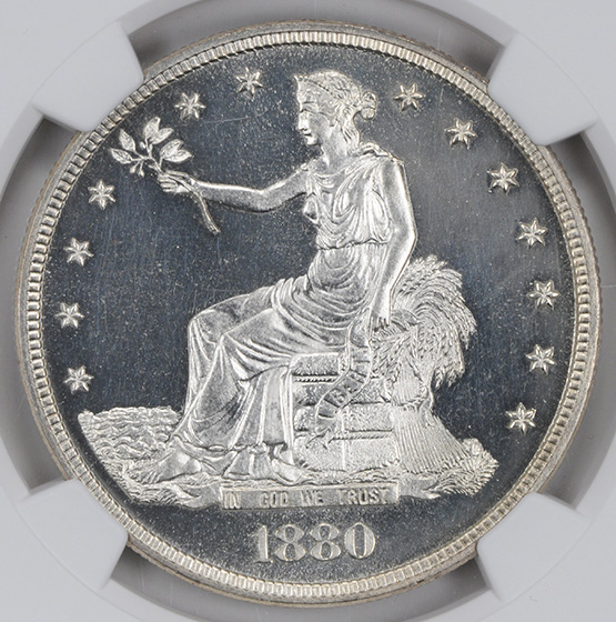 Picture of 1880 TRADE T$1 PR66 Cameo