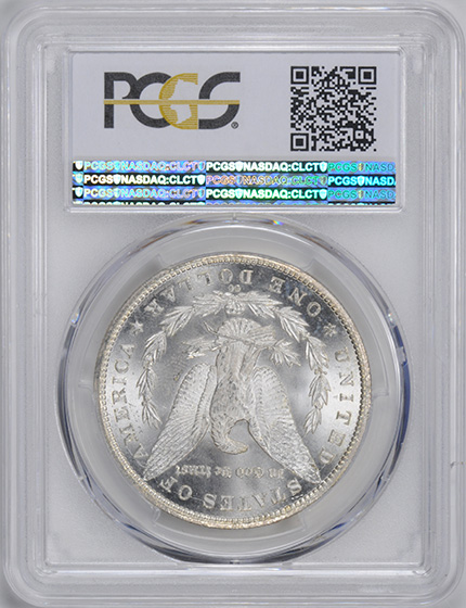 Picture of 1885-CC MORGAN S$1 MS66
