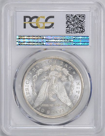 Picture of 1892-CC MORGAN S$1 MS65