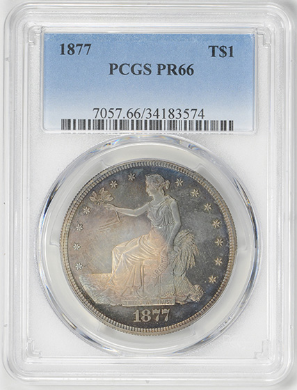 Picture of 1877 TRADE T$1 PR66
