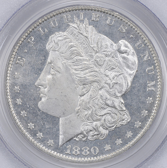 Picture of 1880 MORGAN S$1 MS65 DMPL