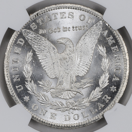 Picture of 1893-CC MORGAN S$1 MS65