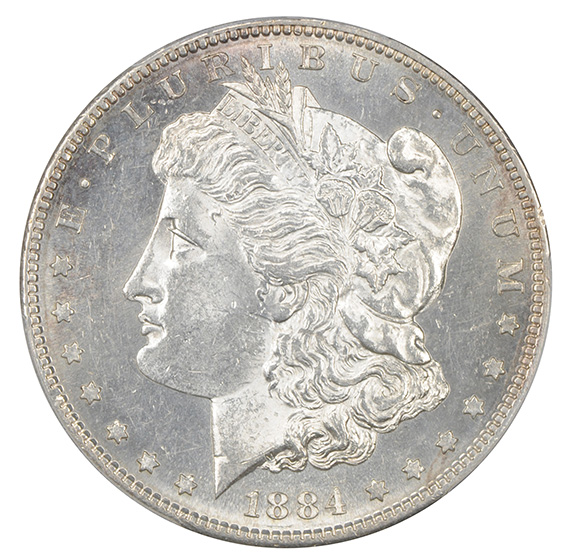 Picture of 1884-S MORGAN S$1 MS61