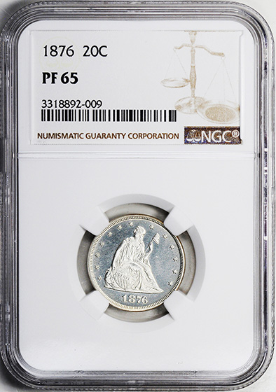 Picture of 1876 20C PR65