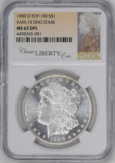 Picture of 1900-O MORGAN S$1 MS65 DMPL