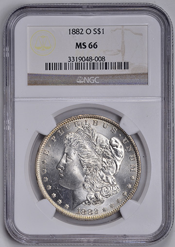 Image of 1882-O MORGAN S$1
