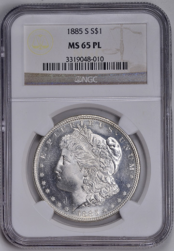 Image of 1885-S MORGAN S$1