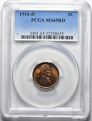 Image of 1916-D LINCOLN BRONZE 1C, WHEAT REV